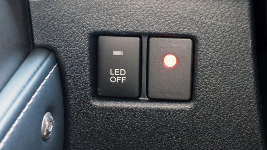 レクサスNXにCraftsmad DRL KIT用の純正風ON/OFFスイッチを取り付け