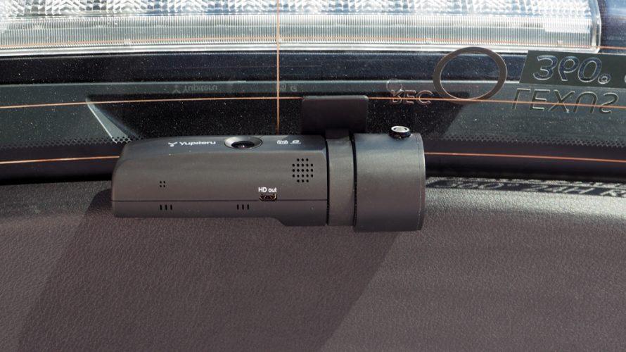 レクサスNXのリア用ドライブレコーダーをユピテルSN-SV40cに変更・装着