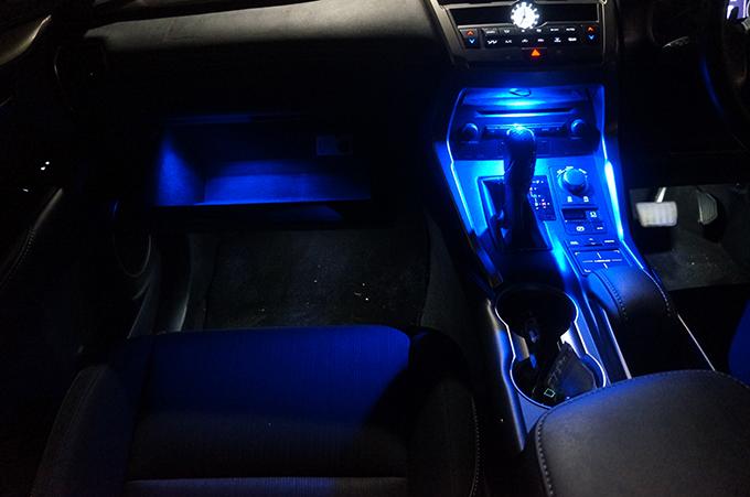 AXIS-PARTSからレクサスNX専用設計の照明パーツが発売
