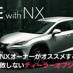 レクサスNXのおすすめディーラーオプション(2019年年次改良モデル)