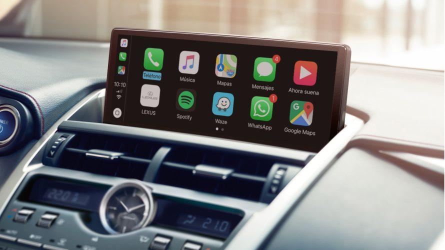 レクサスNXをApple CarPlayとAndroid Autoに対応させるプロジェクト